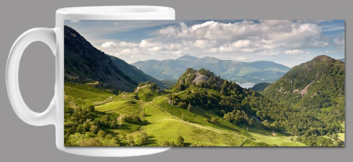 Castle Crag on a Summers Afternoon Mug
