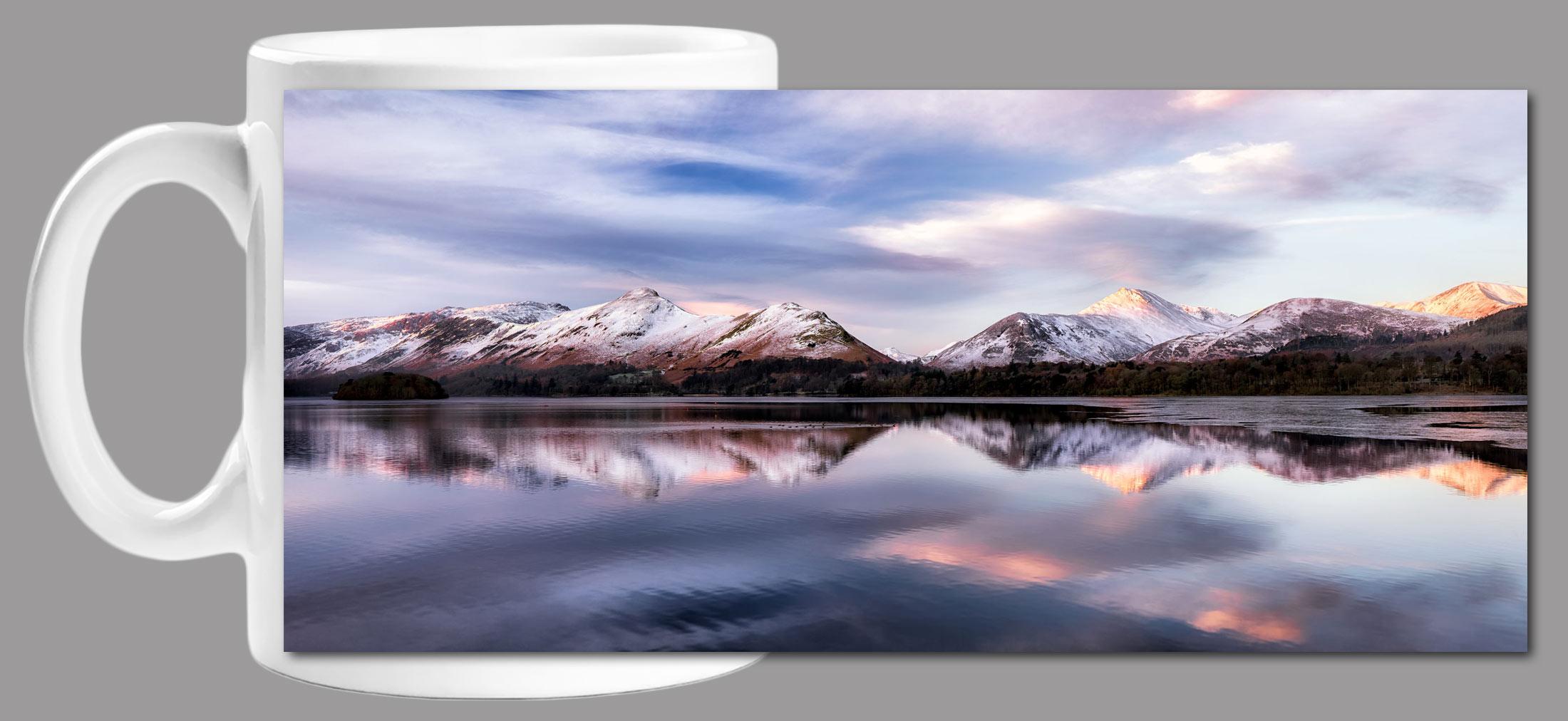 Colours of Dawn at Derwent Water Mug