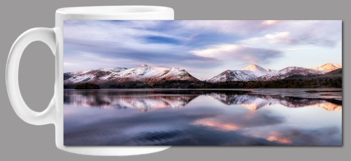 Colours of Dawn at Derwent Water Mug