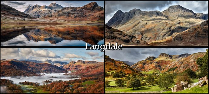 Langdale Mugs 4 Pack