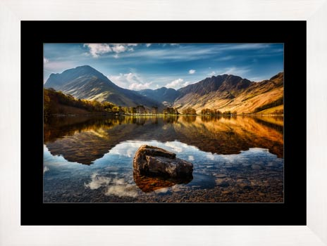 The Buttermere Rock - Framed Print
