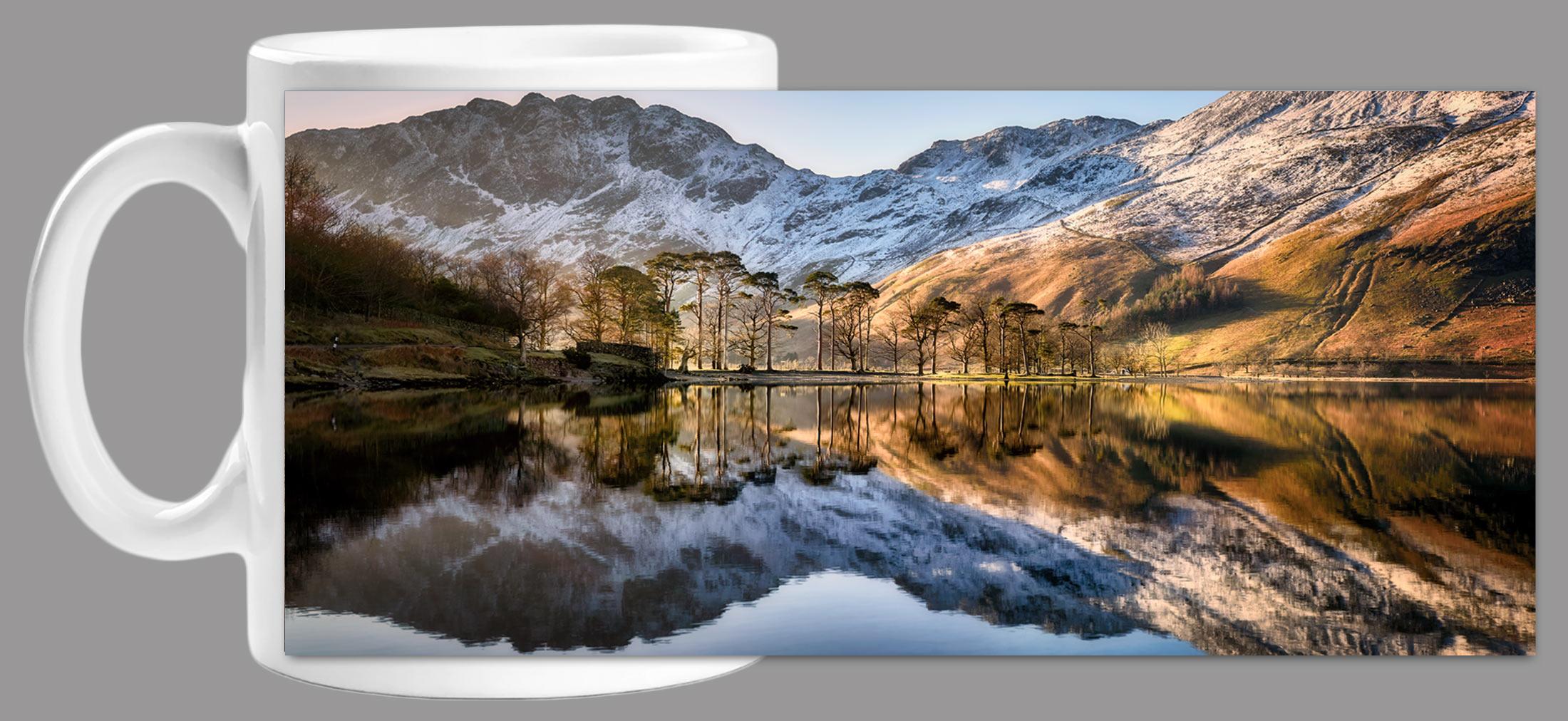 Winter Reflections Buttermere Mug
