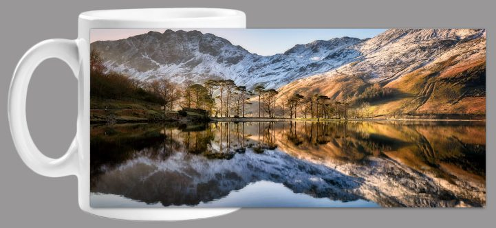 Winter Reflections Buttermere Mug
