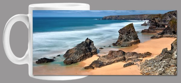 Postcard from Bedruthan Mug