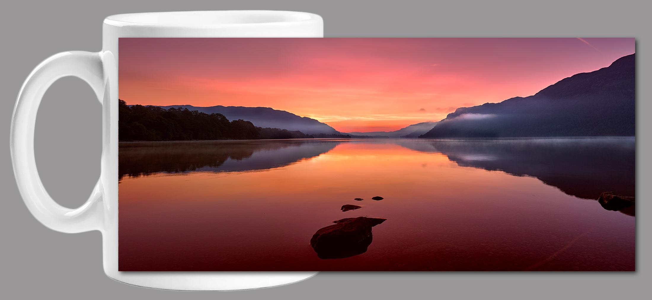 Ullswater Golden Sunrise Mug
