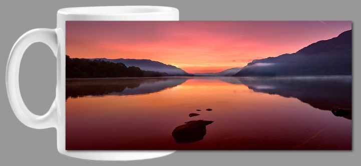 Ullswater Golden Sunrise Mug