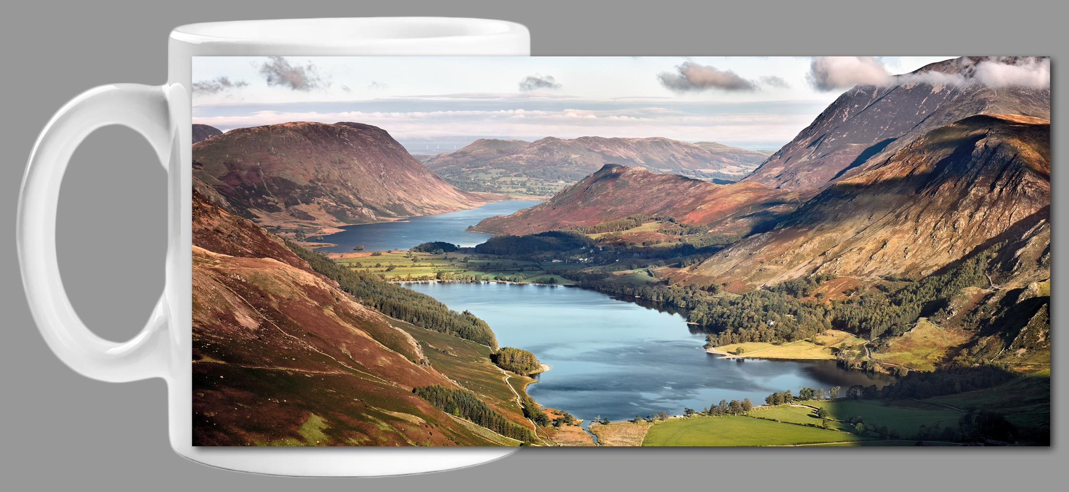 Buttermere and Crummock Water - Mug