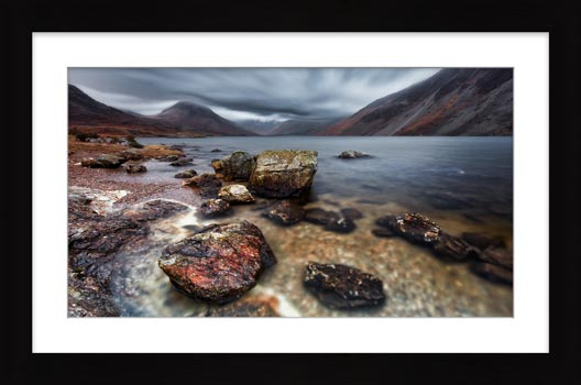 Wast Water Middle Earth - Framed Print