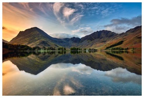 Breaking Dawn Buttermere - Lake District Print