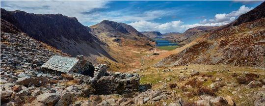 Warnscale Bothy and Buttermere Valley - Lake District Canvas