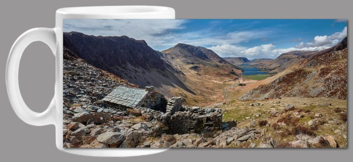 Warnscale Bothy and Buttermere Valley - Mug