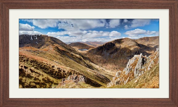 Fairfield to Dollywagon Pike - Framed Print with Mount