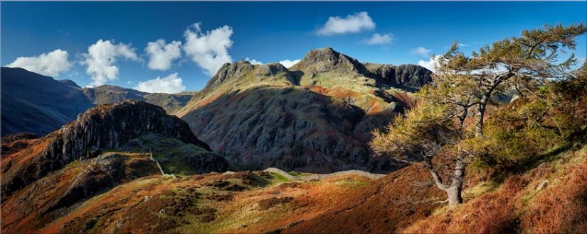 Langdales and Side Pike - Lake District Print