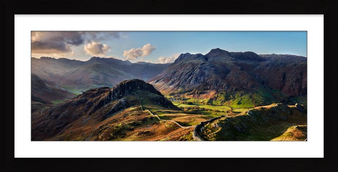 Side Pike Panorama - Framed Print