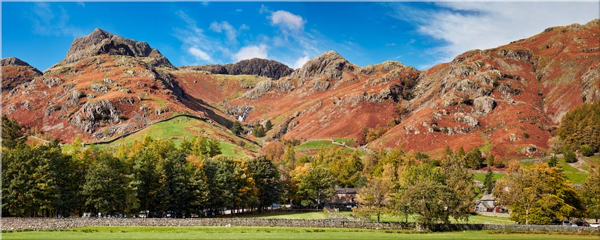 Dungeon Ghyll Panorama - Lake District Canvas