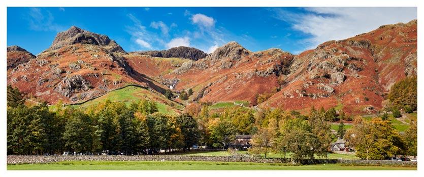 Dungeon Ghyll Panorama - Lake District Print