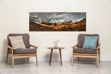 The Langdales from Castle Howe - Canvas Print