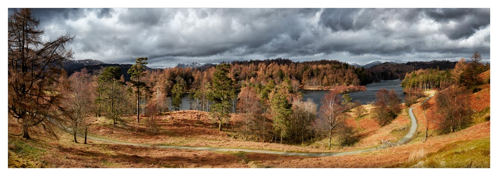 Tarn Hows Winter Colours - Lake District Print
