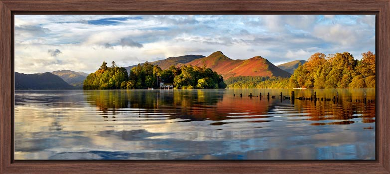 Derwent Isle and Cat Bells - Modern Print