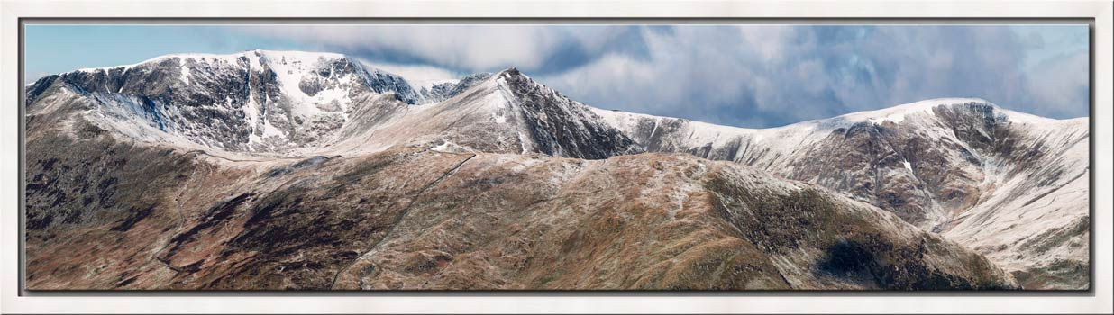 Helvellyn Mountains Panorama - Modern Print
