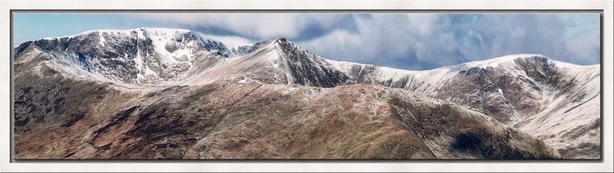 Helvellyn Mountains Panorama - Modern Print