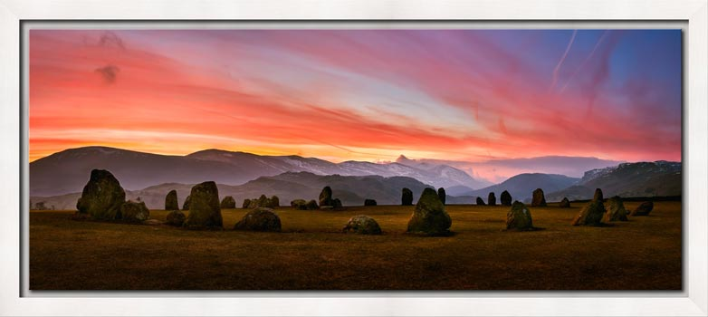 Dawn Skies Over Castlerigg - Modern Print