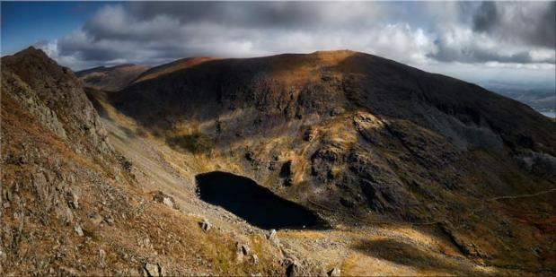 Goats Water and Coniston Old Man - Canvas Print
