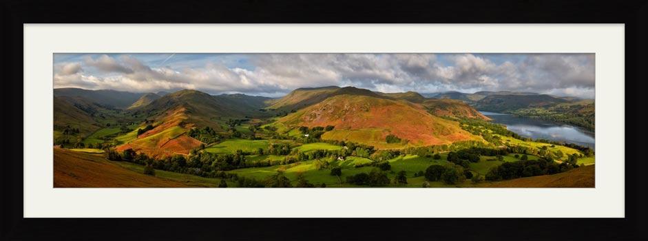 Hallin Fell Panorama - Framed Print