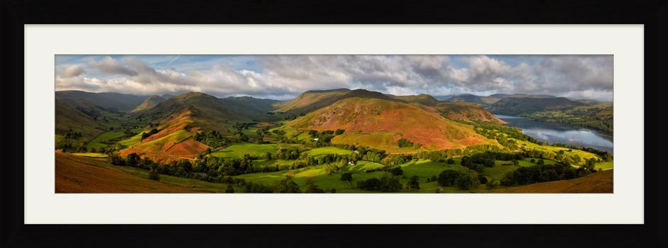 Hallin Fell Panorama - Framed Print