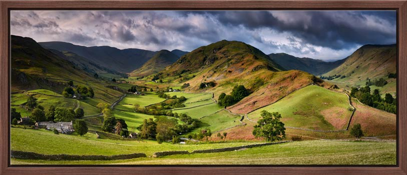 The Martindale Valleys - Modern Print