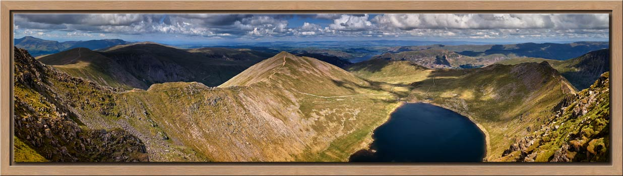 Swirral Edge to Striding Edge - Modern Print