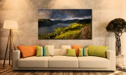 Ullswater Stormy Skies - Lake District Canvas on Wall