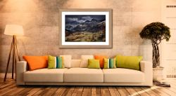 Path To The Pikes - Framed Print with Mount on Wall