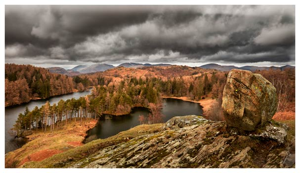 Grey Skies Over Tarn Hows - Lake District Print