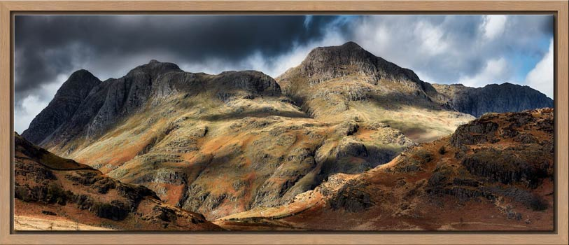 The Langdale Pikes - Modern Print