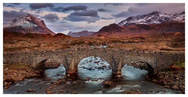 Glen Sligachan Bridge - Isle of Skye Print