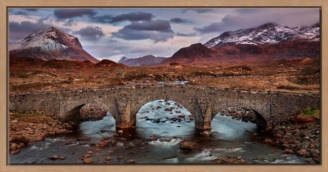 Glen Sligachan Bridge - Modern Print