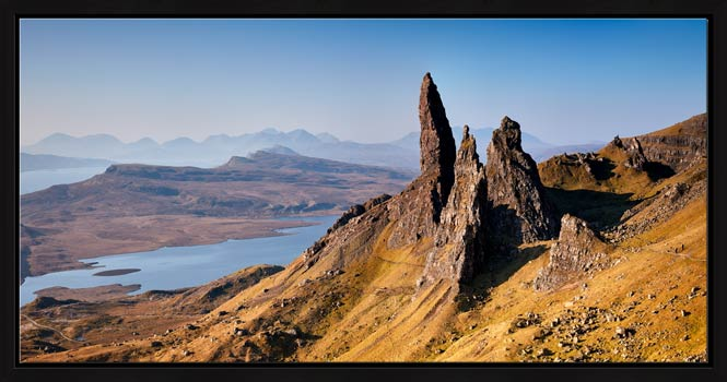 Old Man of Storr Panorama - Modern Print
