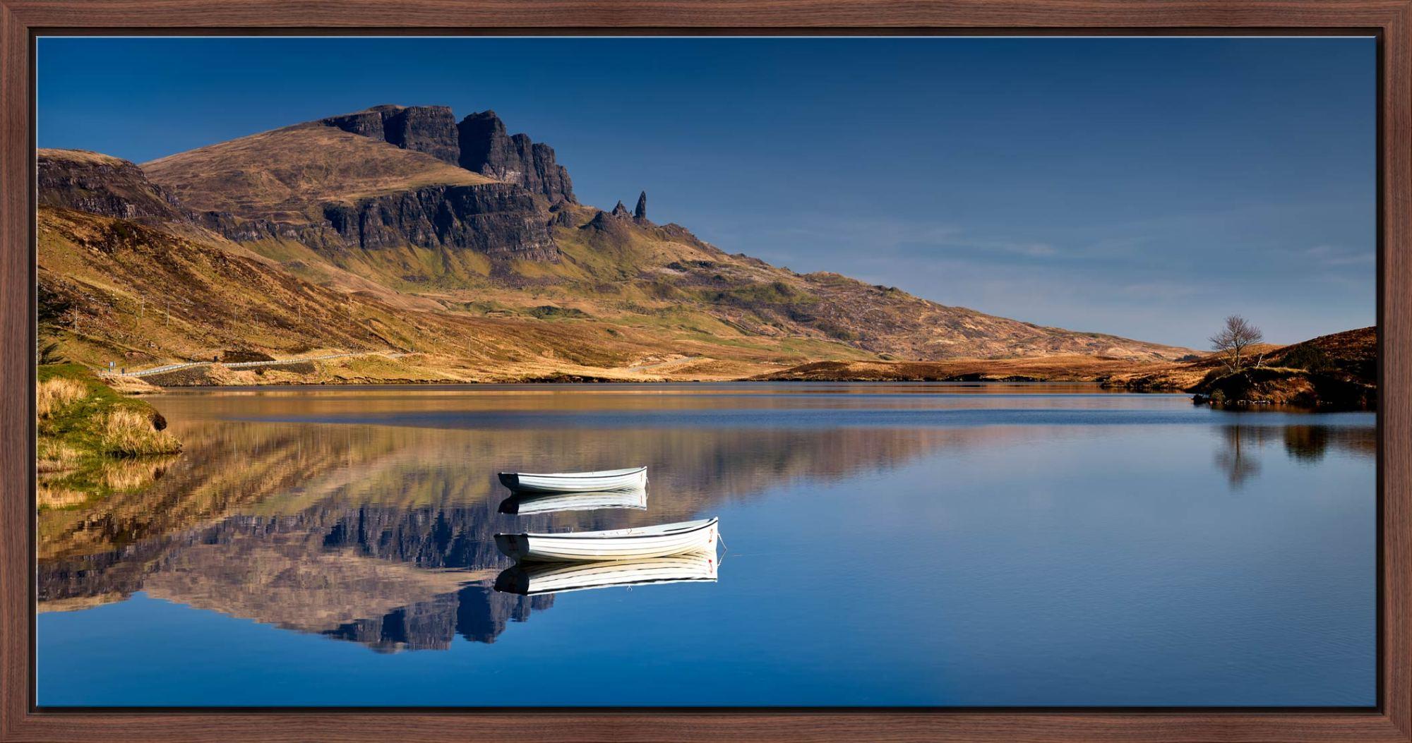 Peaceful Morning at Loch Fada - Modern Print