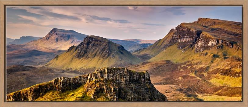 Trotternish Mountains Isle of Skye - Modern Print