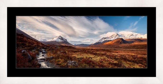 Glen Sligachan Isle of Skye - Framed Print with Mount