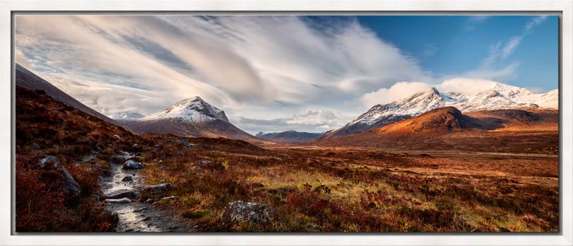 Glen Sligachan Isle of Skye - Modern Print