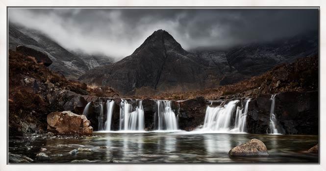 Fairy Pools Waterfall - Modern Print