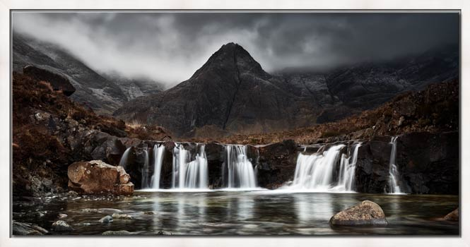 Fairy Pools Waterfall - Modern Print