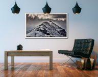 Marsco Isle of Skye - White Maple floater frame with acrylic glazing on Wall