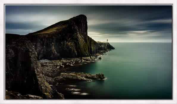 Neist Point Lighthouse Green - Modern Print