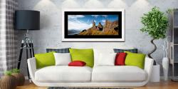 The Old Man of Storr and Needle Rock - Framed Print with Mount on Wall