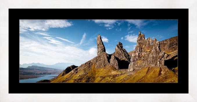 The Old Man of Storr and Needle Rock - Framed Print with Mount