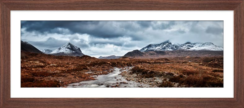 Glen Sligachan Panorama - Framed Print
