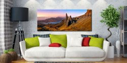 Old Man Storr Golden Light - Canvas Print on Wall